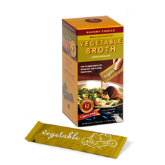 Savory Choice Vegetable Broth Concentrate - 12x 9.6g