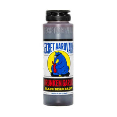 Secret Aardvark Drunken Garlic Black Bean Sauce - 236ml