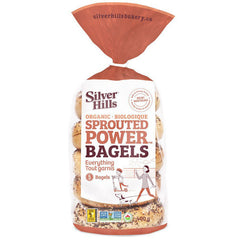 Silver Hills Organic Sprouted Everything Bagels - 400g