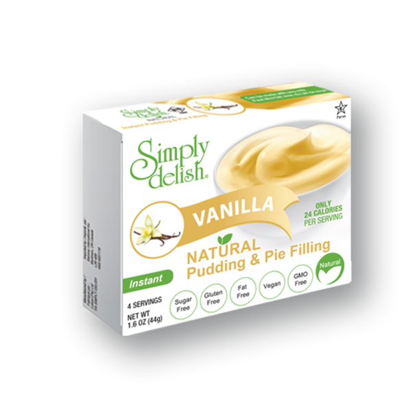 Simply Delish Vanilla Pudding Mix - 48g