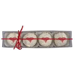 Sjaak's White Chocolate Hazelnut Cupid's Kisses - 72g