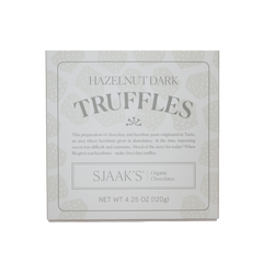 Sjaak's Holiday Hazelnut Dark Truffle Box - 120g