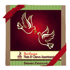 Sjaak's Holiday Birdie Chocolate Nuts & Chews Box - 132g