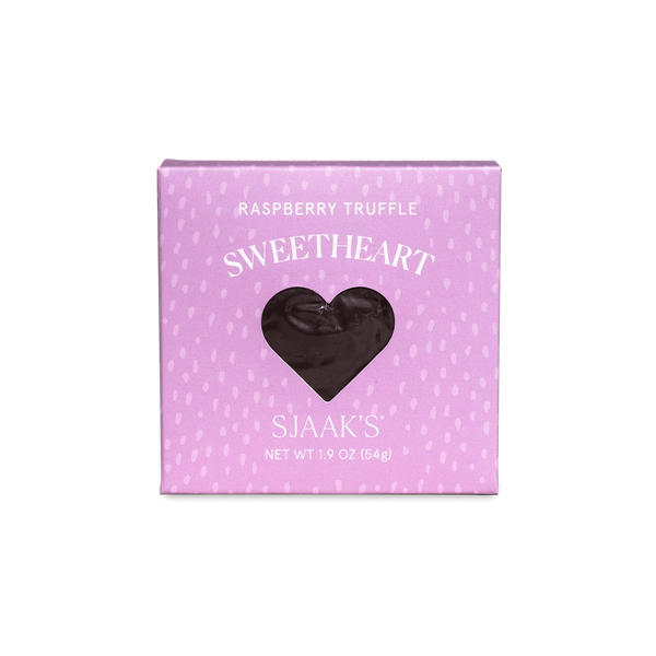 Sjaak's Sweetheart Raspberry Dark Chocolate Heart - 54g