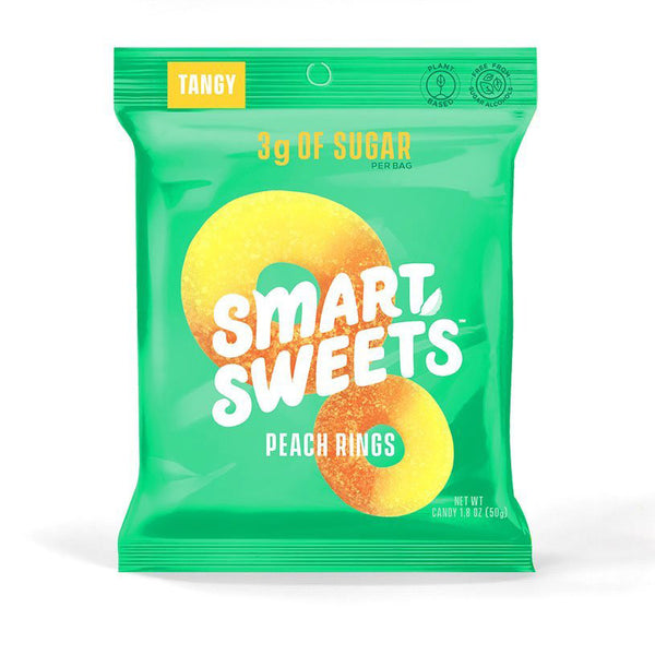 Smart Sweets Peach Rings - 50g