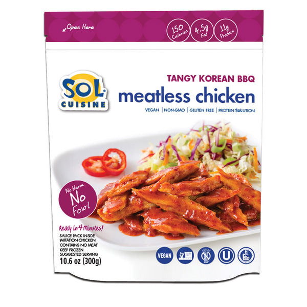 Sol Cuisine Tangy Korean BBQ Chicken - 300g