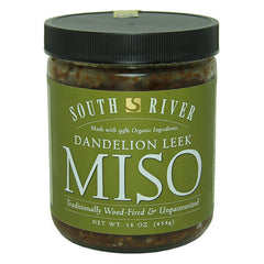 South River Three Year Dandelion Leek Miso - 454g