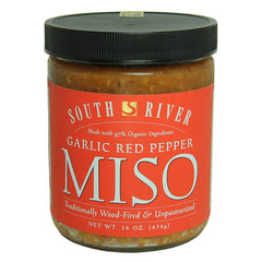 South River Garlic Red Pepper Miso - 454g