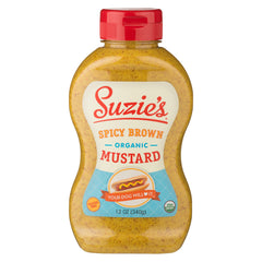 Suzie's Organic Spicy Brown Mustard - 355ml