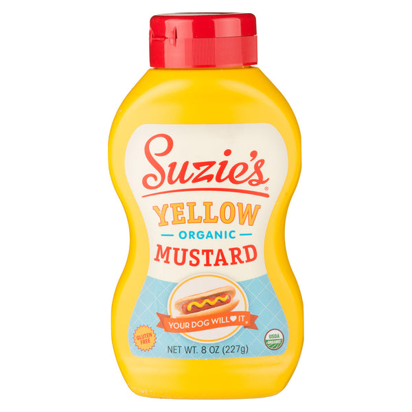 Suzie's Organic Yellow Mustard - 237ml