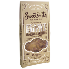 Sweetsmith Candy Co Chai Latte Peanut Brittle - 56g