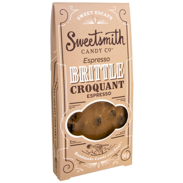 Sweetsmith Candy Espresso Brittle - 56g
