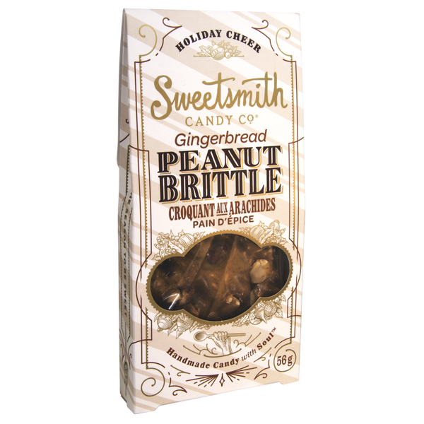 Sweetsmith Candy Co Gingerbread Peanut Brittle - 56g