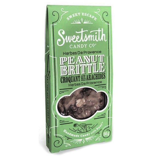 Sweetsmith Candy Co Herbes De Provence Peanut Brittle - 56g