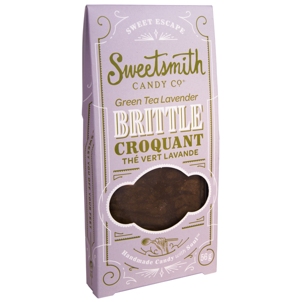 Sweetsmith Candy Co Green Tea Lavender Brittle - 56g