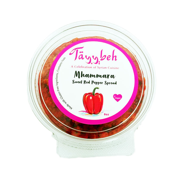 Tayybeh Mhammara Sweet Red Pepper Spread - 227ml