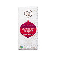 Theo Cranberry Orange 55% Dark Chocolate - 85g