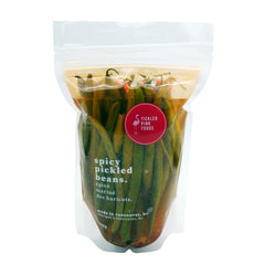 Tickled Pink Foods Spicy Pickled Beans - 465g