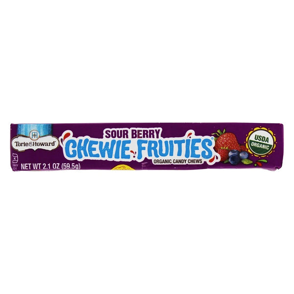 Torie & Howard Sour Berry Fruit Chews - 59.5g