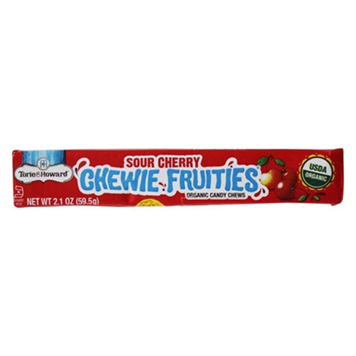 Torie & Howard Sour Cherry Fruit Chews - 59.5g