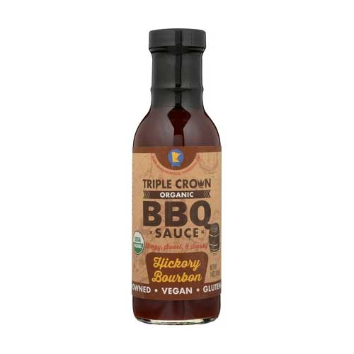 Triple Crown Hickory Bourbon BBQ Sauce - 350ml