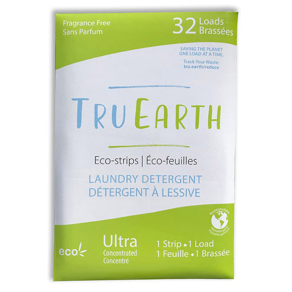 Tru Earth Fragrance-Free Laundy Eco-Strips - 32 Loads