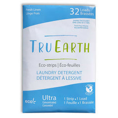 Tru Earth Fresh Linen Laundy Eco-Strips - 32 Loads