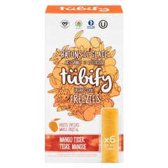 Tubify Mango Tiger Organic Freezies - 6x 55ml