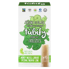 Tubify Minty Moose Limeade Freezies - 6x 55ml