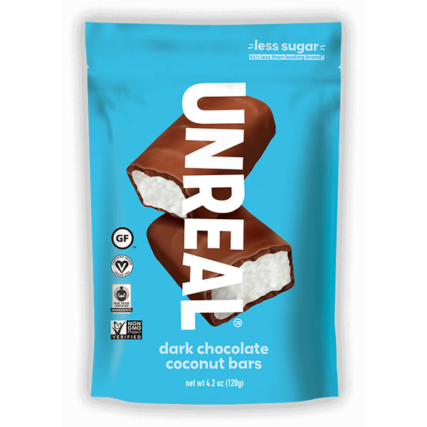 Unreal Dark Chocolate Coconut Bar Pouch - 120g