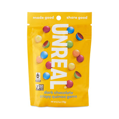 Unreal Dark Chocolate Crispy Quinoa Gems - 142g