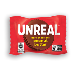 Unreal Dark Chocolate Peanut Butter Cup Single - 14g