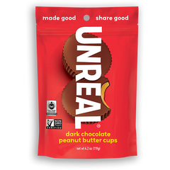 Unreal Dark Chocolate Peanut Butter Cups - 119g