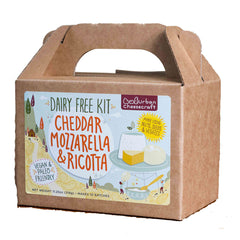 Urban Cheesecraft Cheddar, Mozzarella & Ricotta DIY Kit