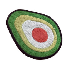 Vegan Power Co Avocado Iron On Patch