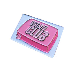 Vegan Power Co Vegan Club Enamel Pin