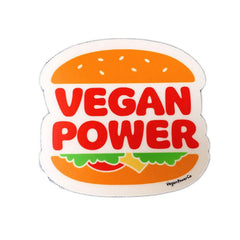 "Vegan Power Co 3"" Burger Sticker"