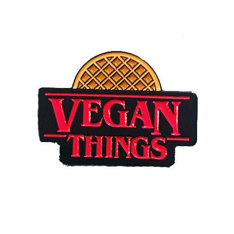Vegan Power Co Vegan Things Enamel Pin