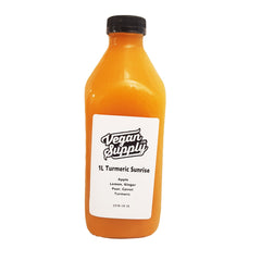 Vegan Supply Turmeric Sunrise Juice - 1L