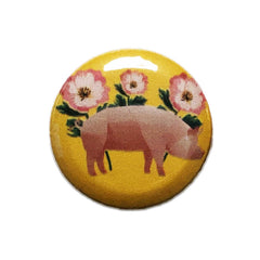 Vegan Supply 'Flower Piggy' Magnet