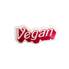Vegan Supply 'Barbie' Style Vegan Sticker