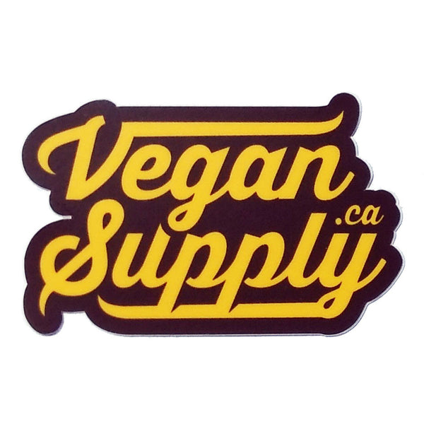 Vegan Supply 'VeganSupply.ca' Logo Die-Cut Sticker