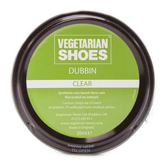 Vegetarian Shoes Clear Shoe Polish - 50ml