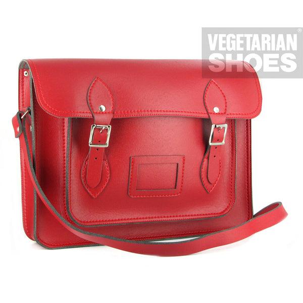 Vegetarian Shoes Red Classic Satchel