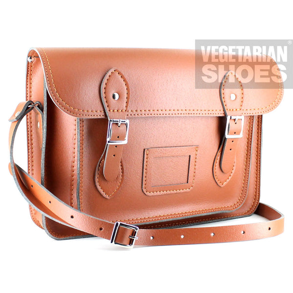 Vegetarian Shoes Tan Classic Satchel