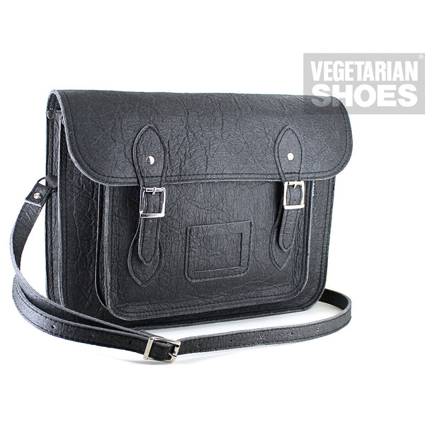 Vegetarian Shoes Black Pineapple Satchel