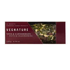 Vegnature La Buchette Nuts & Cranberries Goat Cheese - 135g