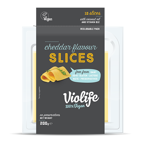Violife Cheddar Slices - 200g