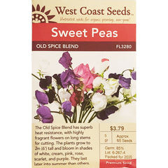 West Coast Seeds Old Spice Blend Sweet Pea Seeds - 5g