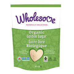 Wholesome Organic Golden Cane Sugar - 907g